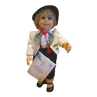 """Limited Edition Engel-Puppe German """"Alexander"""" Jointed Doll"""