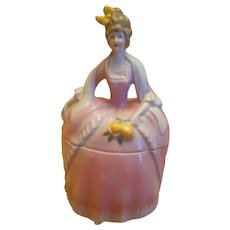 Madame Pompadour Dresser Doll Trinket Holder - Germany