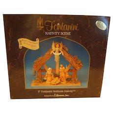 Fontanini Heirloom 5-piece Nativity Set - Made in Italy