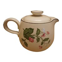 "Homer Laughlin ""Rhythm: Sweet Pea D55n4 Teapot"