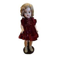 "Madame Alexander 19"" Princess Elizabeth Composition Doll"