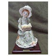 "Rare G. Armani Limited Edition Figurine - ""Girl With Chicks"""