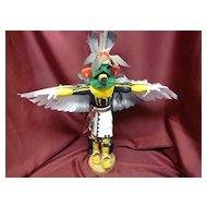 Hopi Artist  Johnny Ramos 1970s Eagle Kachina