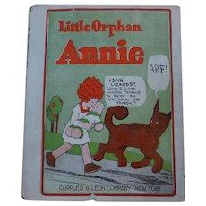 1926 Little Orphan Annie Book w/ Dust Cover