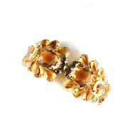 Juliana Topaz Givre Vintage Bracelet by DeLizza and Elster