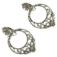 Florenza Gothic Style Pendant Earrings