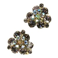DeLizza and Elster Juliana Shades of Amethyst Vintage Earrings