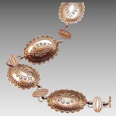 Navajo Silver Concho belt or necklace
