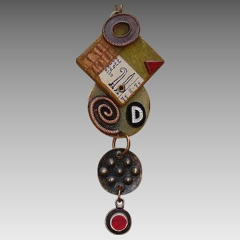 Artisan Necklace with D