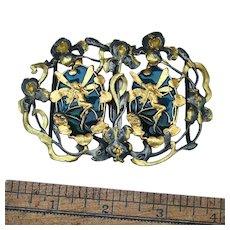 Art Nouveau Belt Buckle, Possible reproduction