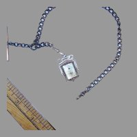 MOP Locket on Watch chain