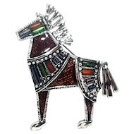 Roman Horse - Danecraft pin