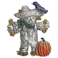 Little Scarecrow - Spoontiques pin - Harvest Halloween