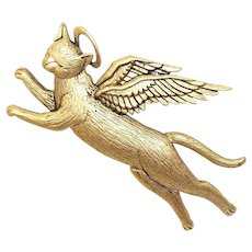 Angel Cat - J.J. brooch - JJ pin