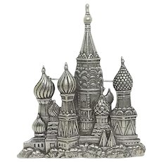 Russian Cathedral - JJ pin brooch