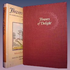 Flowers of Delight, Leonard de Vries, Osborne Collection of Early Children's Books