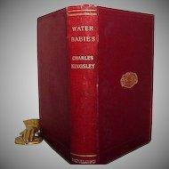 """Water Babies"" Charles Kingsley 4th  of 1st. ed."