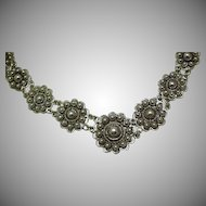 Antique  1800's . Zeeuws Knoopje Necklace