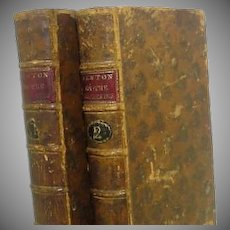 "Two Vol. ""Newton on The Prophecies""  1787"
