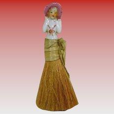 "China Half Doll Brush ""Just Too Sweet"""