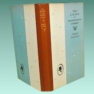 "1st.ed 1st print ""The Litany of Washington Street,"" Vachel Lindsay 1929"