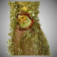 Christmas Victorian Style  Ornament Glitter and  Pre-Cut Paper