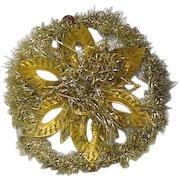 Victorian Glitter  Snow Flake Christmas Decoration
