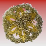 Victorian Glitter  Snow Flake Christmas Decoration
