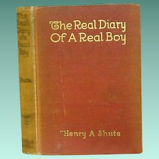 """The Real Diary  of A Real Boy""  Henry A Shute 1917"
