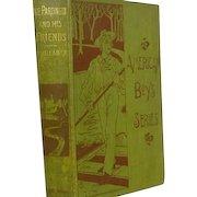 "1st Ed "" Ike Partington"" or The Adventures of a Human Boy, Pub.1878, B. P. Shillaber"