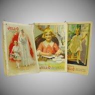 Three Jello Advertising Manuals Kewpie Pictures