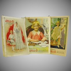Three Jello Advertising Manuals Kewpie Pictures