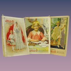 Three Jello Advertising Manuals