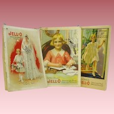 Three Jello Advertising Manuals