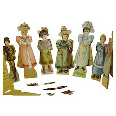 McLaughlin's XXXX Coffee 1894  Advertising  Paper Dolls - Red Tag Sale Item