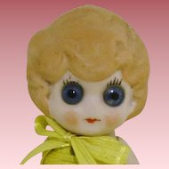 """""""Where did you get those Eyes"""" 5"""" All Bisque"""
