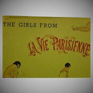 """""""The Girls from La Vie Parisienne"""" The Citadel Press 1961 !st American Edition"""