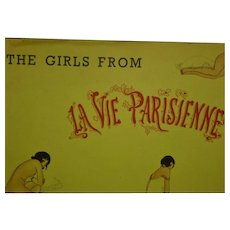 """The Girls from La Vie Parisienne"" The Citadel Press 1961 !st American Edition"
