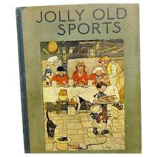 """Jolly Old Sport"",   Frank Adams 1919"