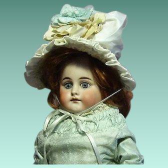 """Kestner Shoulder Head G 1 French Market Doll 18"""""""