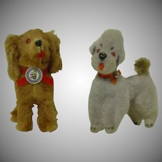 West Germany Stuffed Toy Dog
