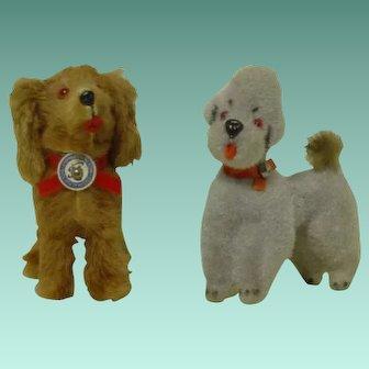 West Germany Stuffed Toy Dog