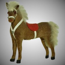 Kunstlerschutz  Monkey Head Mark Toy Horse
