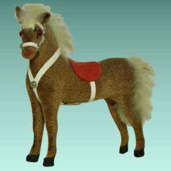 Kunstlerschutz  Monkey Head Mark Toy Horse