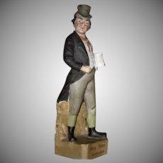 "Rare 1880 Heubach Sunburst Mark ""Oliver Twist"" Bill Sikes"