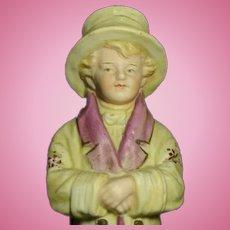 "Rare 1880 Heubach Kate Greenway Figurine ""Under the Window"""