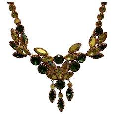Vintage Austrian Rhinestone Necklace