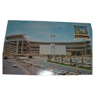 Vintage 1964 New York Worlds Fair and New York Mets' Shea Stadium Combination Postcards