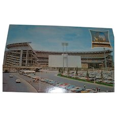 Vintage 1964 New York Worlds Fair and New York Mets' Shea Stadium Combination Postcards