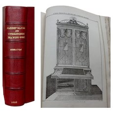 Copiously Illustrated Thomas Sheraton's 'Cabinet-Maker and Upholsterer's Drawing Book 1895  Magnificently Rebound
